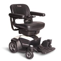 PRDGO_CHAIR_WHITE - Pride Mobility - Go Chair, FDA Class II Medical Device