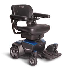 PRDGO_CHAIR_BLUE - Pride Mobility - Go Chair, FDA Class II Medical Device