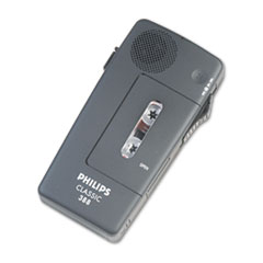 PSPLFH038800B - Philips® Pocket Memo 388 Slide Switch Mini Cassette Dictation Recorder