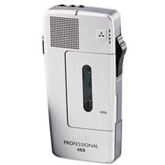 PSPLFH048800B - Philips® Pocket Memo 488 Slide Switch Mini Cassette Dictation Recorder