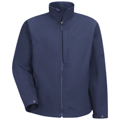 UNFJP66NV-RG-XL - Red KapMens Soft Shell Jacket