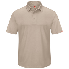 UNFSK90TN-SS-XL - Red KapMens Workwear Polo Shirt