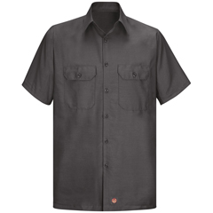 UNFSY60CH-SS-XXL - Red KapMens Short Sleeve Ripstop Shirt