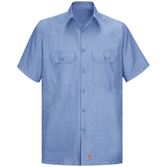 UNFSY60LB-SS-XL - Red KapMens Short Sleeve Ripstop Shirt