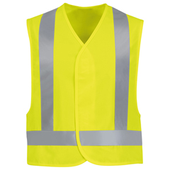 UNFVYV6YE-RG-5XL - Red KapMens Hi-Vis Safety Vest