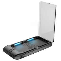 PTCAON300357 - HIMCEN - Deep Ultra Violet Light Sterilizing Power Bank with built-in 5A Battery - Wireless Charging & Sterilizing Functions