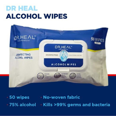 PTCSMN200027 - Dr Heal - Disinfecting Alcohol Wipes