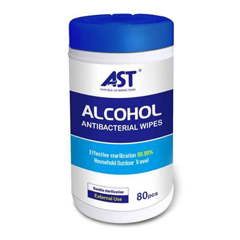 PTCTBN202784 - AST - 75% Ethyl Alcohol Disinfecting Wipes