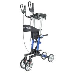 PTCUPWLKALDLX19BL - Proactive Medical - Protekt® Pilot Upright Walker, Blue
