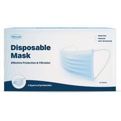 PTCWMN100003 - WeCare - Disposable 3-Ply Face Masks (50 Masks)