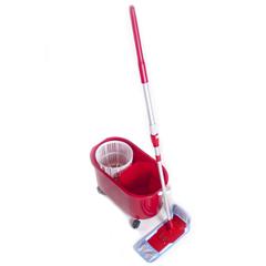 BCEB001080 - Boss Cleaning EquipmentPro Spin Microfiber Mop and Bucket