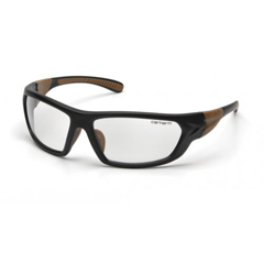 PYRCHB210D - Pyramex Safety ProductsCHB210D Clear Lens with Black/Tan Frame