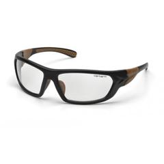 PYRCHB210DT - CarharttCarbondale Anti-Fog Clear Lens with Black/Tan Frame