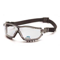 PYRGB1810STR20 - Pyramex Safety ProductsV2G® Readers Eyewear +2.0 Clear Lens with Black Strap/Temples