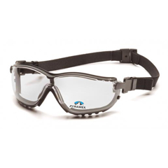PYRGB1810STR25 - Pyramex Safety ProductsV2G® Readers Eyewear +2.5 Clear Lens with Black Strap/Temples