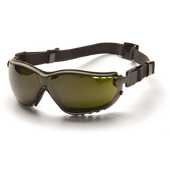 PYRGB1850SFT - Pyramex Safety ProductsV2G® Eyewear 5.0 IR Filter Lens with Black Strap/Temples