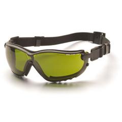 PYRGB1860SFT - Pyramex Safety ProductsV2G® Eyewear 3.0 IR Filter Lens with Black Strap/Temples