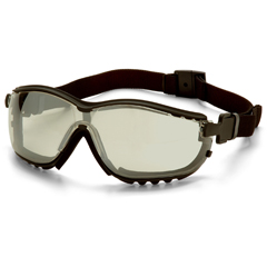 PYRGB1880ST - Pyramex Safety ProductsV2G® IO Mirror Anti-Fog Lens with Black Strap/Temples