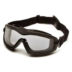 PYRGB6410SDT - Pyramex Safety ProductsV2G-XP™ Eyewear Dual Clear Anti-Fog Lens with Black Frame
