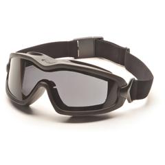 PYRGB6420SDT - Pyramex Safety ProductsV2G-XP™ Eyewear Dual Gray Anti-Fog with Black Frame