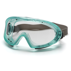 PYRGC504TN - Pyramex Safety ProductsCapstone® Chemical Green Direct/Indirect Goggle with Clear Anti-Fog Lens