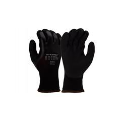 PYRGL611S - Pyramex Safety Products - 3/4Dip Sndy Nitrile 13G W 10G Fleece Lnr S