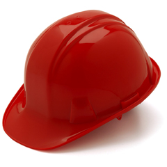 PYRHP16120 - Pyramex Safety ProductsCap Style 6-Point Ratchet Suspension Hard Hat