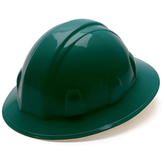 PYRHP24135 - Pyramex Safety ProductsFull Brim Style 4-Point Ratchet Suspension Hard Hat