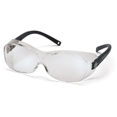 PYRS3510SJ - Pyramex Safety ProductsOTS® Eyewear Clear Lens with Black Temples