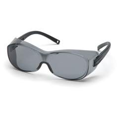 PYRS3520SJ - Pyramex Safety ProductsOTS® Eyewear Gray Lens with Black Temples