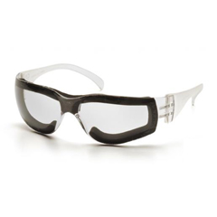 PYRS4110STFP - Pyramex Safety ProductsIntruder® Clear Anti-Fog Lens with Clear Frame and Full Foam Padding