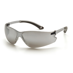 PYRS5870S - Pyramex Safety ProductsItek® Eyewear Silver Mirror Lens with Gray Temples