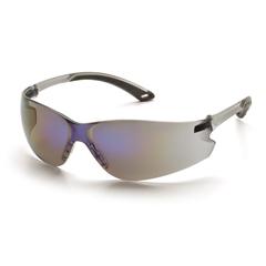PYRS5875S - Pyramex Safety ProductsItek® Eyewear Blue Mirror Lens with Gray Temples