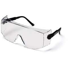 PYRSB1010SJ - Pyramex Safety ProductsDefiant® Eyewear Jumbo Size Clear Lens with Black Temples