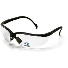 PYRSB1810R10 - Pyramex Safety Products - V2 Readers® Eyewear Clear +1.0 Lens with Black Frame