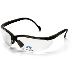 PYRSB1810R25 - Pyramex Safety ProductsV2 Readers® Eyewear Clear +2.5 Lens with Black Frame