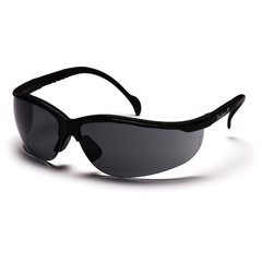 PYRSB1820S - Pyramex Safety Products - Venture II® Eyewear Gray Lens with Black Frame