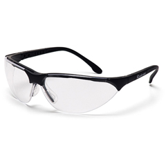 PYRSB2810ST - Pyramex Safety ProductsRendezvous® Eyewear Clear Anti-Fog Lens with Black Frame
