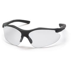 PYRSB3710D - Pyramex Safety ProductsFortress® Eyewear Clear Lens with Black Frame