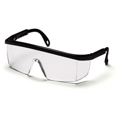 PYRSB410S - Pyramex Safety ProductsIntegra® Eyewear Clear Lens with Black Frame