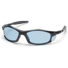 PYRSB4360D - Pyramex Safety ProductsSolara™ Eyewear Infinity Blue Lens with Black Frame