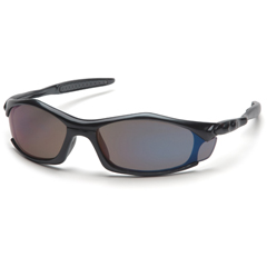 PYRSB4375D - Pyramex Safety ProductsSolara™ Eyewear Blue Mirror Lens with Black Frame