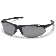 PYRSB4570D - Pyramex Safety Products - Avante® Eyewear Silver Mirror Lens with Black Frame