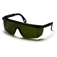 PYRSB460SF - Pyramex Safety ProductsIntegra® Eyewear 3.0 IR Filter Lens with Black Frame