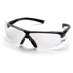 PYRSB4910ST - Pyramex Safety ProductsOnix™ Eyewear Clear Anti-Fog Lens with Black Frame