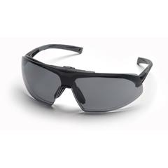 PYRSB4920STP - Pyramex Safety ProductsOnix Plus™ Clear Anti-Fog Lens/Gray Flip Lens with Black Frame