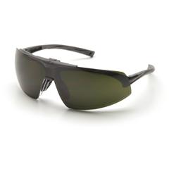 PYRSB4950PR15 - Pyramex Safety ProductsOnix Plus Readers™ Eyewear Clear +1.5 Anti-Fog Lens/5.0 IR Flip Lens with Black Frame