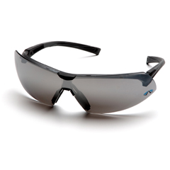 PYRSB4970S - Pyramex Safety ProductsOnix™ Eyewear Silver Mirror Lens with Black Frame