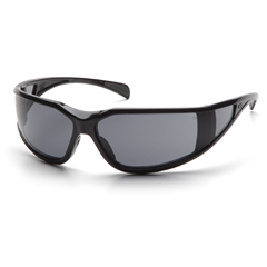 PYRSB5120DT - Pyramex Safety Products - Exeter® Eyewear Gray Anti-Fog Lens with Black Frame