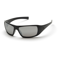 PYRSB5670D - Pyramex Safety ProductsGoliath® Eyewear Silver Mirror Lens with Black Frame